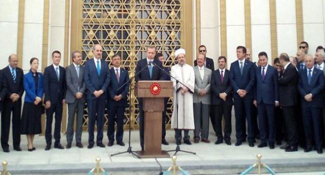 Cumhurbaşkanı ismini açıkladı: Millet Camii