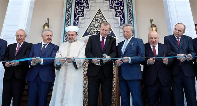 Esenboğa Havalimanı''nda cami ibadete açıldı