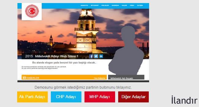 Milletvekili Aday Adayı Sitesi