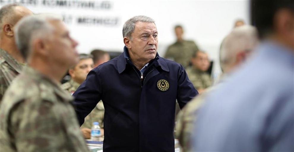 Bakan Akar'dan operasyon açıklaması