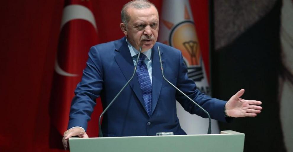Cumhurbaşkanı Erdoğan tarihi resti çekti.