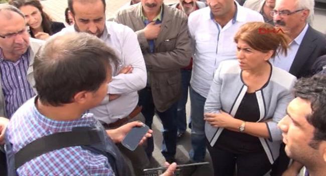 Polisten BDP'lileri susturan konuşma