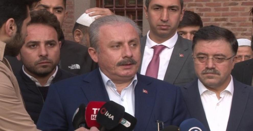 TBMM Başkanı Mustafa Şentop, terör yapılanmasının güçlenmesine göz yummayız